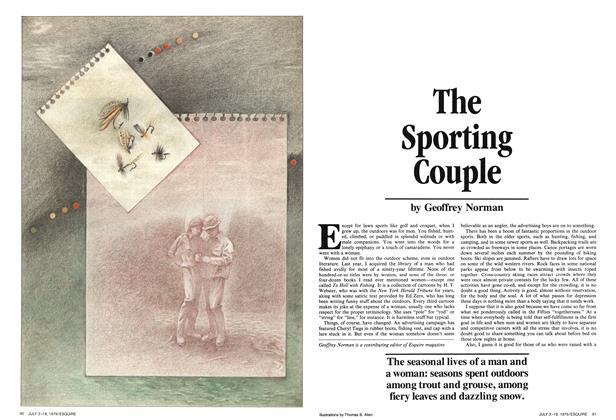 The Sporting Couple