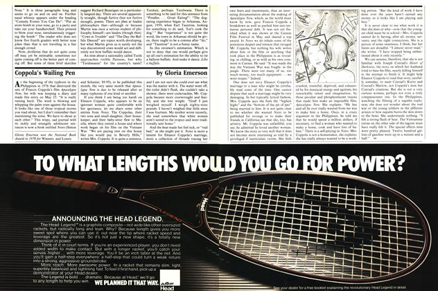 Article Preview: Coppola's Wailing Pen, August 1979 1979   Esquire