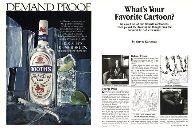 Article Preview: What's Your Favorite Cartoon?, August 1979 1979 | Esquire
