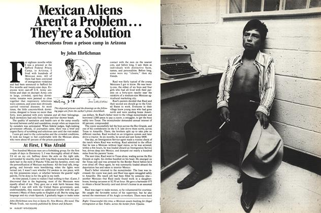 Article Preview: Mexican Aliens Aren't a Problem... They're a Solution, August 1979 1979 | Esquire