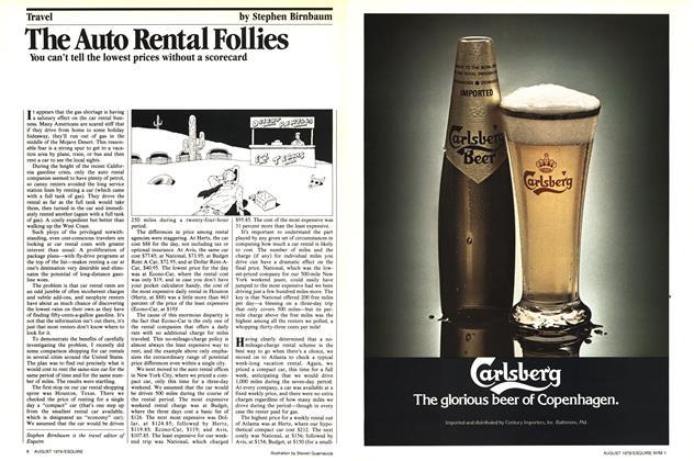 The Auto Rental Follies