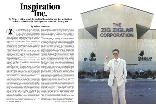 Article Preview: Inspiration Inc., SEPTEMBER 1979 1979 | Esquire