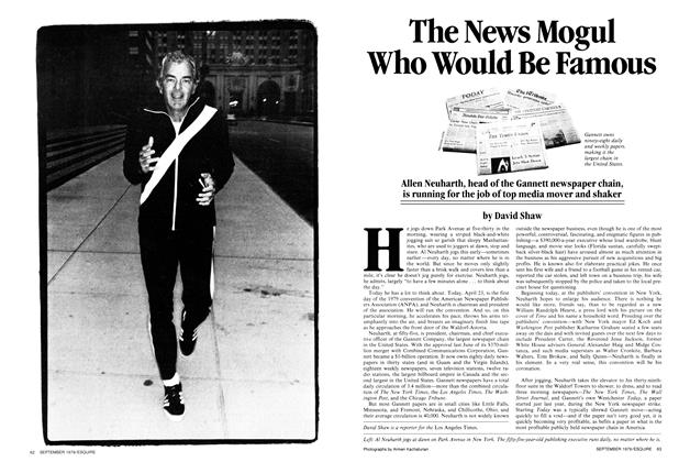 Article Preview: The News Mogul Who Would Be Famous, SEPTEMBER 1979 1979 | Esquire