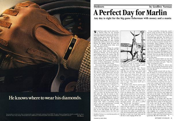 Article Preview: A Perfect Day for Marlin, September 1979 | Esquire