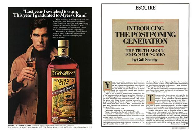 Article Preview: Introducing the Postponing Generation, October 1979 | Esquire