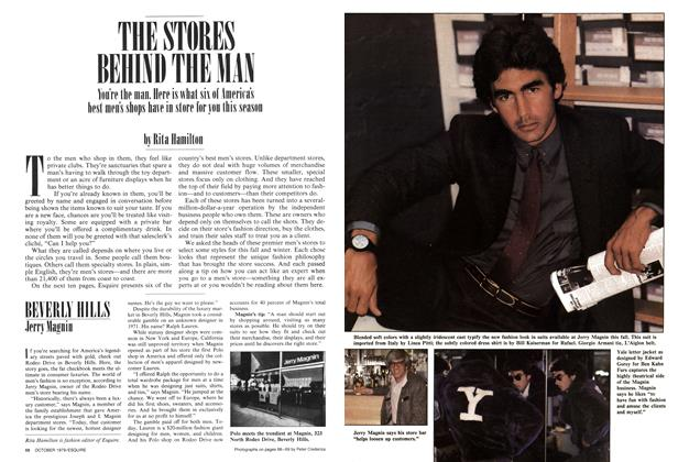 The Stores Behind the Man