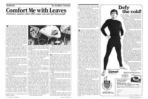 Article Preview: Comfort Me with Leaves, October 1979 | Esquire