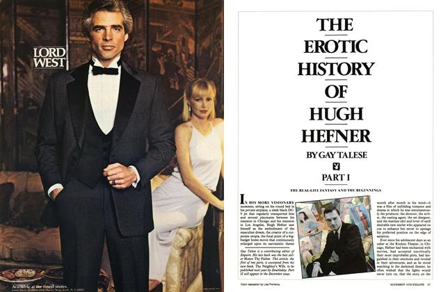 Article Preview: The Erotic History of Hugh Hefner: Part I, November 1979 | Esquire