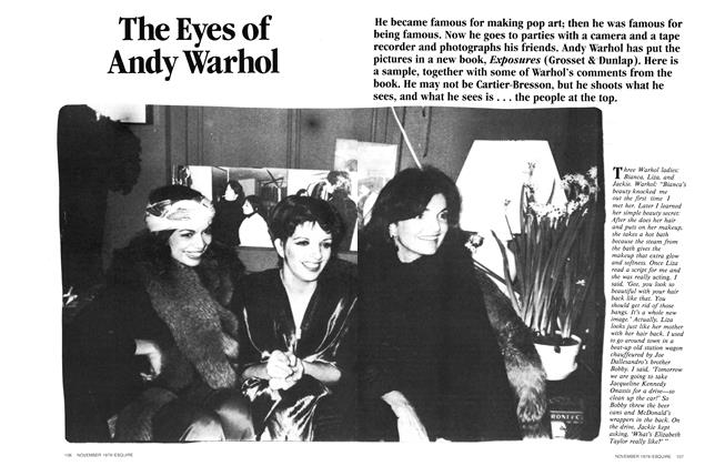 The Eyes of Andy Warhol