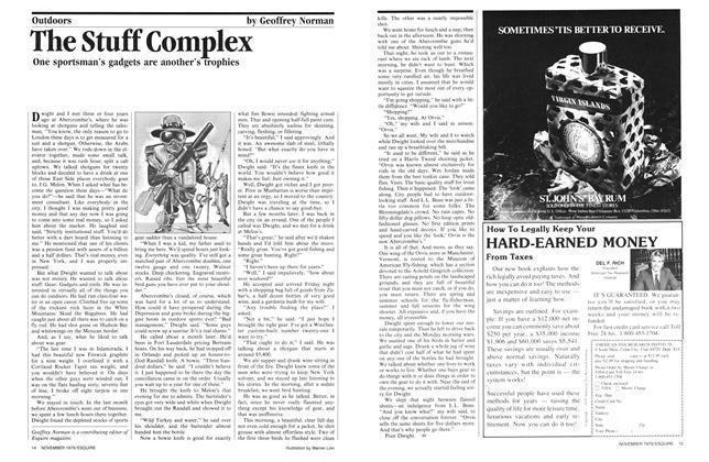 Article Preview: The Stuff Complex, NOVEMBER 1979 1979   Esquire
