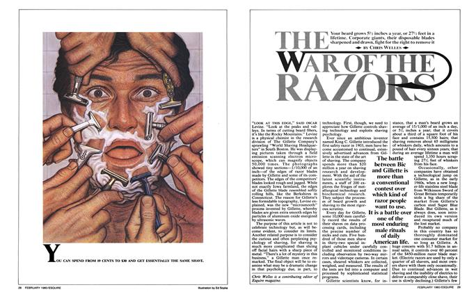 Article Preview: The War of the Razors, February 1980 | Esquire