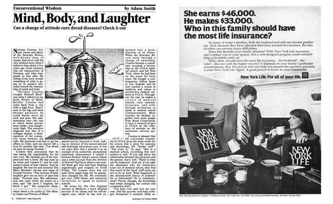 Article Preview: Mind, Body, and Laughter, February 1980 | Esquire
