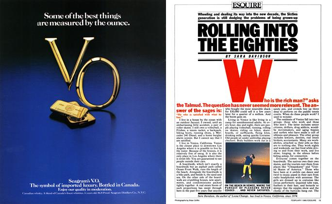 Article Preview: Rolling Into the Eighties, FEBRUARY 1980 1980 | Esquire