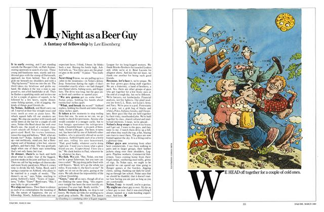 My Night as a Beer Guy