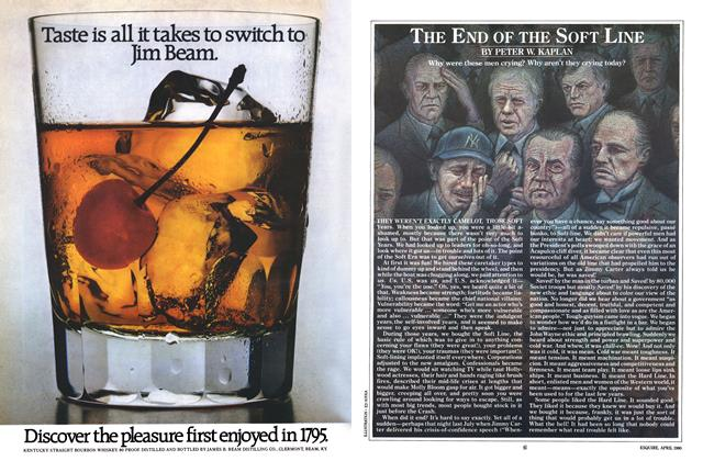 Article Preview: The End of the Soft Line, April 1980 | Esquire
