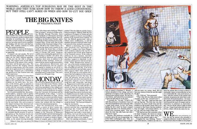Article Preview: The Big Knives, April 1980 | Esquire