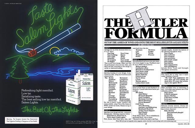 Article Preview: The Hitler Formula, April 1980 | Esquire