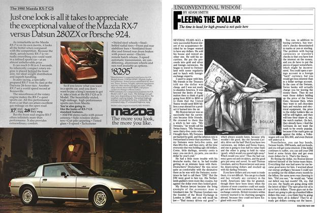 Article Preview: Fleeing the Dollar, MAY 1980 1980 | Esquire
