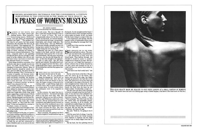 Article Preview: In Praise of Women's Muscles, MAY 1980 1980 | Esquire
