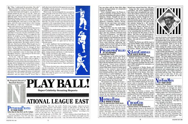 Article Preview: Play Ball!, MAY 1980 1980 | Esquire