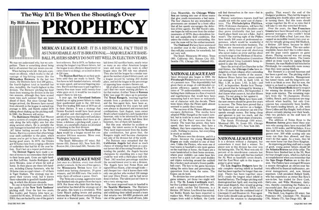 Article Preview: PROPHECY, MAY 1980 1980 | Esquire
