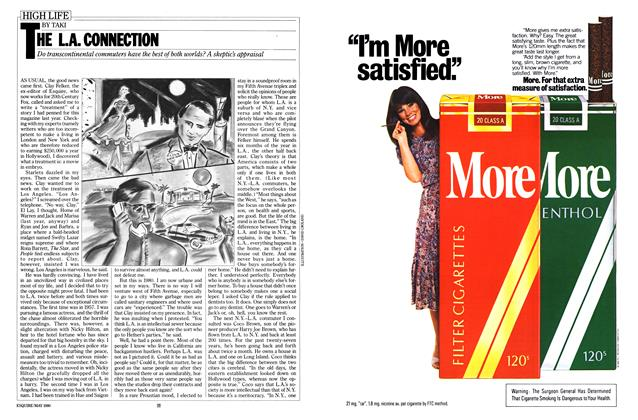 Article Preview: THE L.A. CONNECTION, MAY 1980 1980 | Esquire