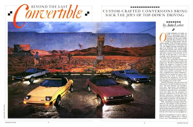 Article Preview: Beyond the Last Convertible, JUNE 1980 1980 | Esquire