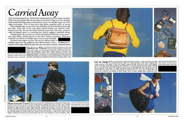 Article Preview: Carried Away, JULY 1980 1980 | Esquire