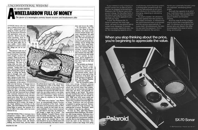 Article Preview: A Wheelbarrow Full of Money, July 1980 | Esquire
