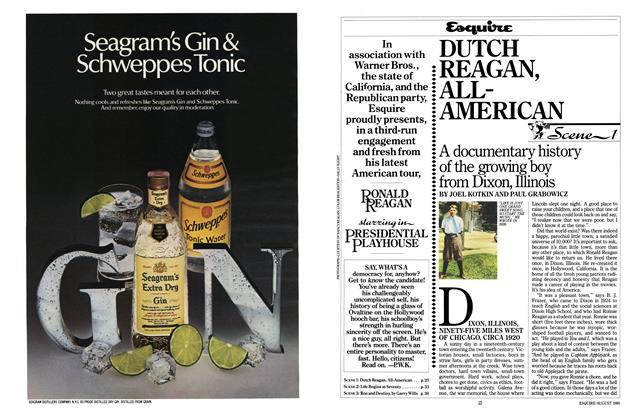 Scene 1: Dutch Reagan, All-American