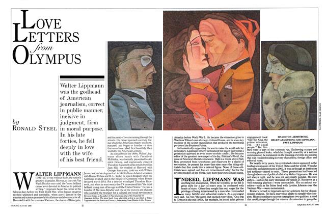 Article Preview: Love Letters From Olympus, AUGUST 1980 1980 | Esquire