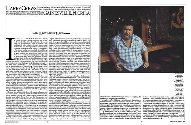 Article Preview: Why I Live Where I Live, September 1980 | Esquire