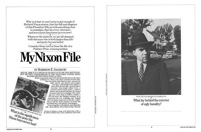 My Nixon File