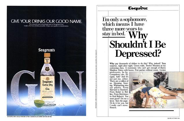 Article Preview: Why Shouldn't I Be Depressed?, October 1980 | Esquire