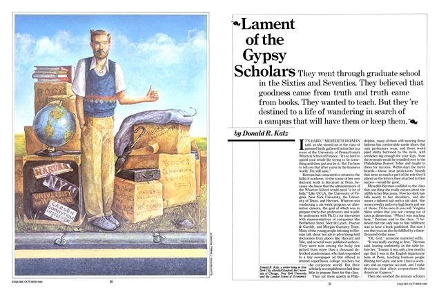 Article Preview: Lament of the Gypsy Scholars, October 1980 | Esquire