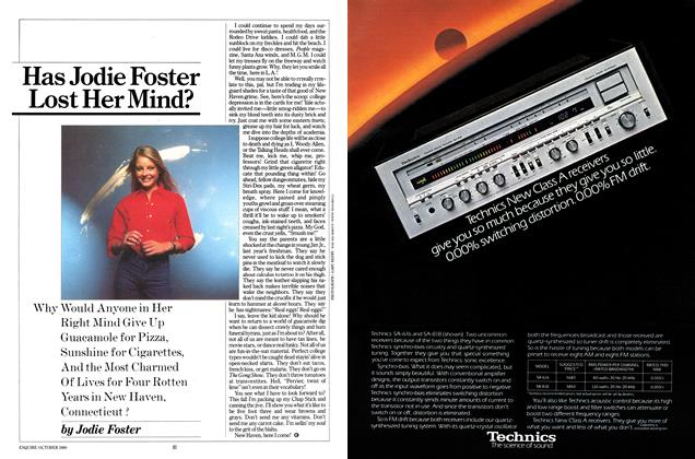Article Preview: Has Jodie Foster Lost Her Mind?, October 1980 | Esquire