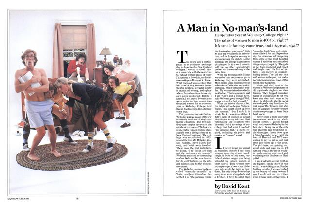 Article Preview: A Man in No Man's Land, October 1980 | Esquire