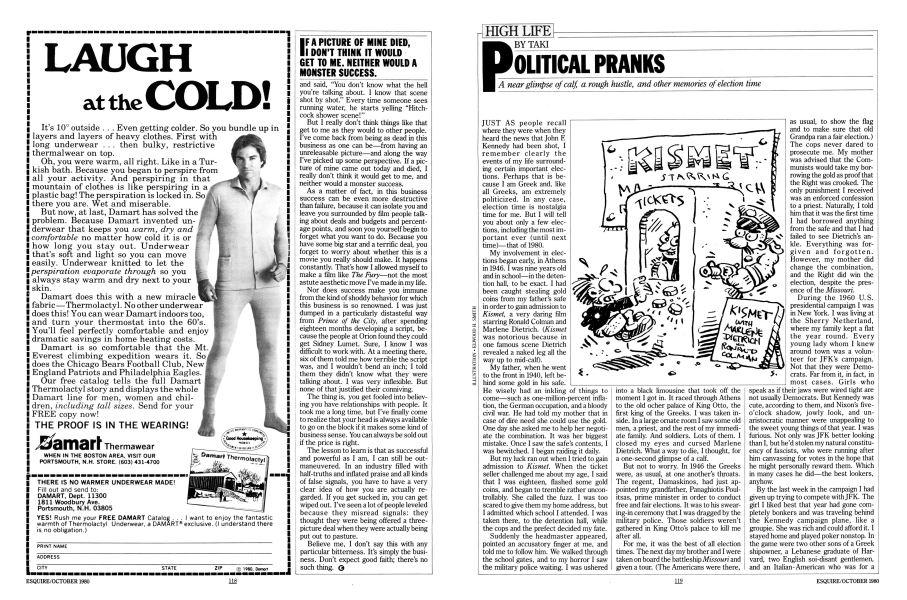 POLITICAL PRANKS | Esquire | OCTOBER 1980