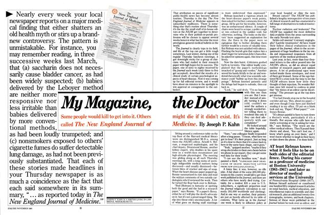 My Magazine, the Doctor