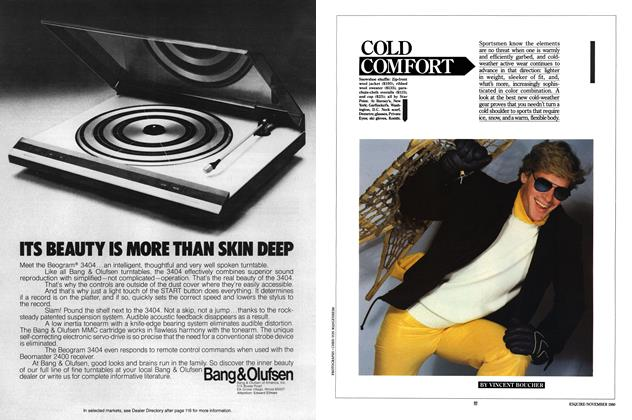 Article Preview: COLD COMFORT, NOVEMBER 1980 1980 | Esquire