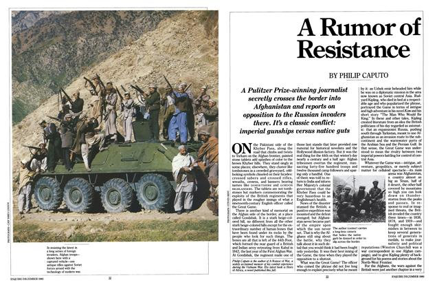 Article Preview: A Rumor of Resistance, DECEMBER 1980 1980 | Esquire