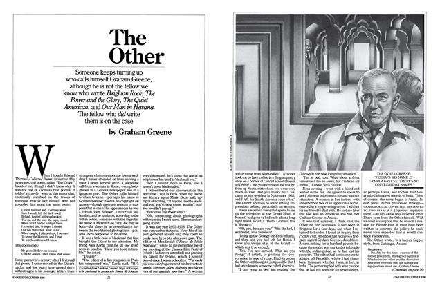 Article Preview: The Other, DECEMBER 1980 1980 | Esquire