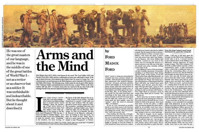 Article Preview: Arms and the Mind, DECEMBER 1980 1980   Esquire