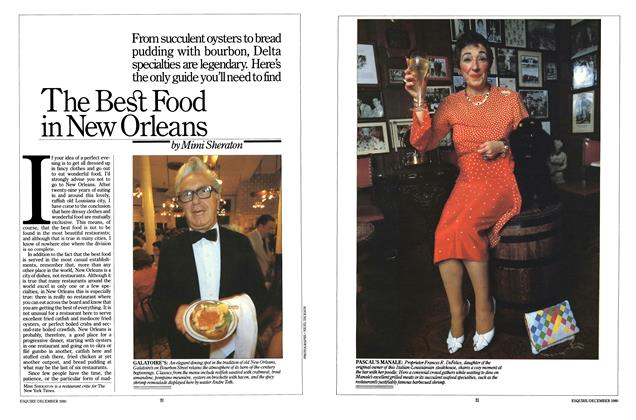 Article Preview: The Best Food in New Orleans, DECEMBER 1980 1980 | Esquire