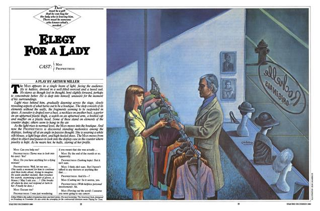 Article Preview: Elegy for a Lady, December 1980 | Esquire