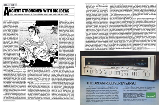 Article Preview: ANCIENT STRONGMEN WITH BIG IDEAS, DECEMBER 1980 1980 | Esquire