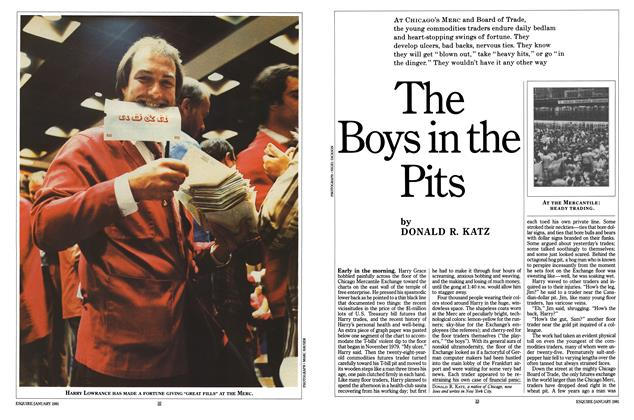 Article Preview: The Boys in the Pits, JANUARY 1981 1981 | Esquire