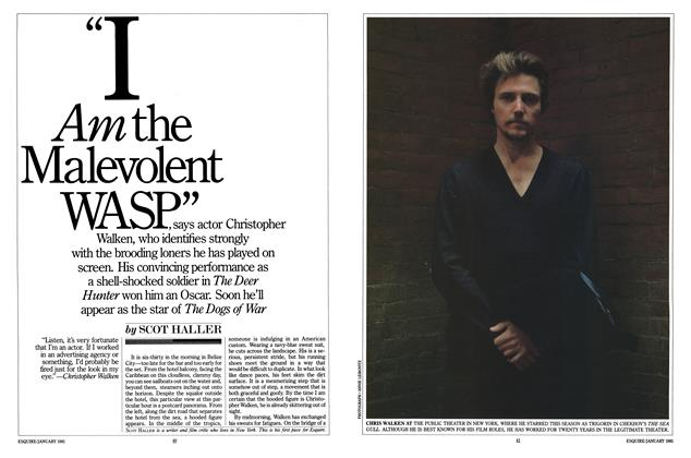 "Article Preview: ""I Am the Malevolent WASP"", JANUARY 1981 1981 