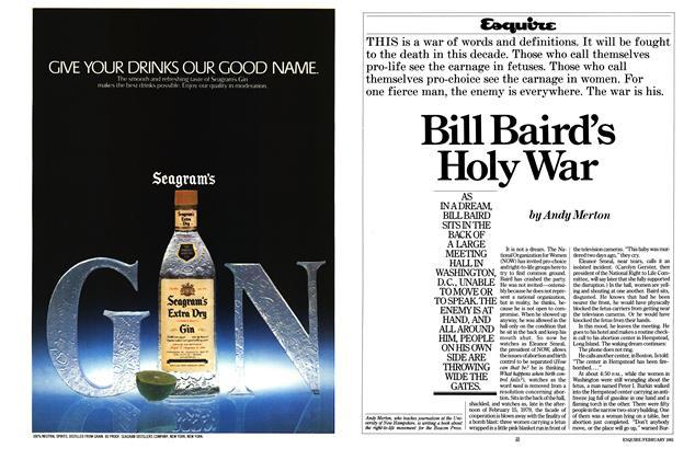 Bill Baird's Holy War