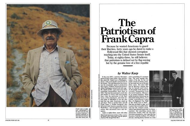The Patriotism of Frank Capra